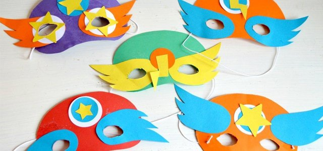 How to Make Superhero Masks