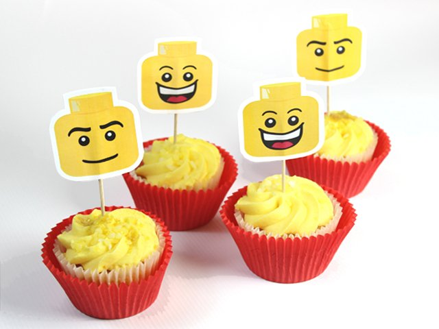 LEGO Cake Toppers | Party Delights Blog