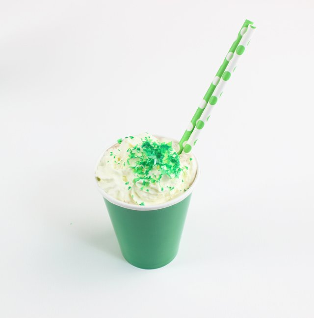 St Patrick's Day Hot Chocolate