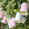 Paper Cup Crafts - Fairy Light Bunting