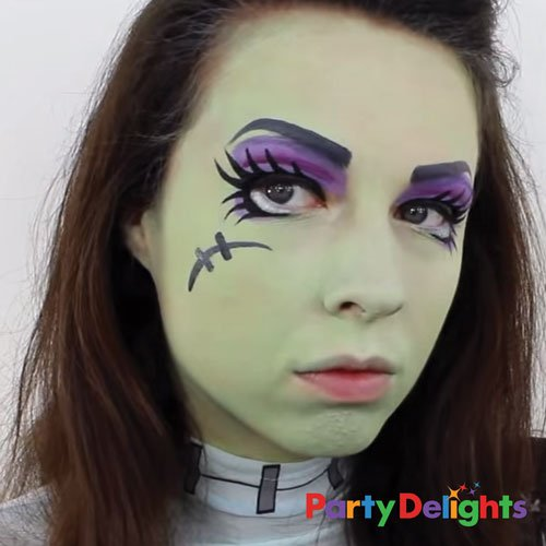 Monster High Face Paint Tutorial Party Delights Blog