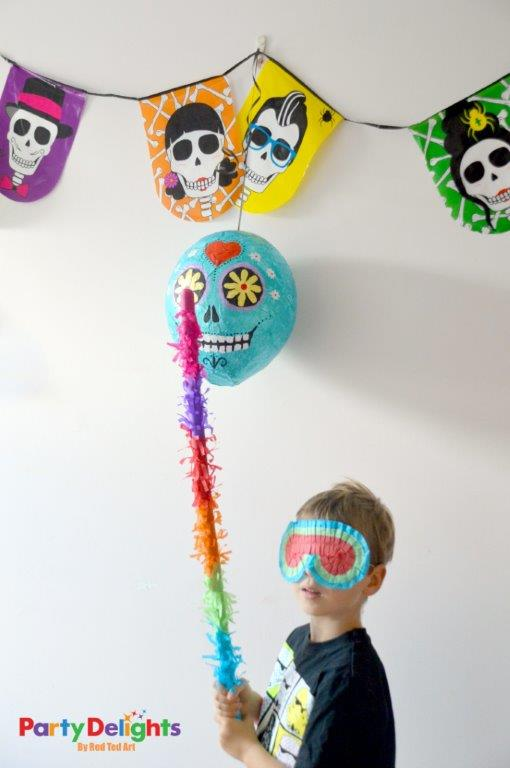 Day of the Dead Pinata - play time