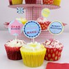 Great British Bake Off Cupcake Toppers