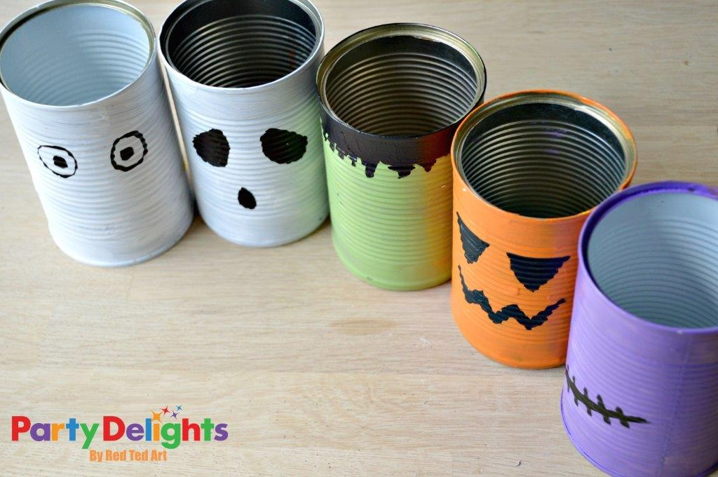 Halloween Tin Can Craft idea