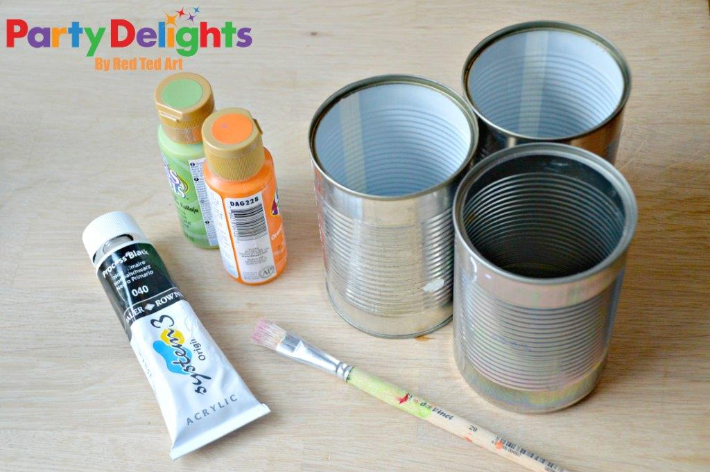 Halloween Tin Can Craft