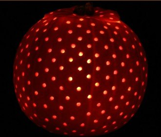 How to Make a Dotty Pumpkin