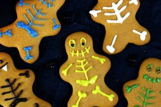 Skeleton Gingerbread Men