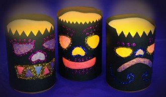 Day of the Dead paper lanterns