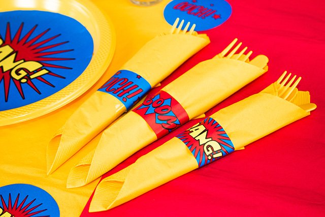 ... Superhero Party on a Budget + FREE PRINTABLES | Party Delights Blog