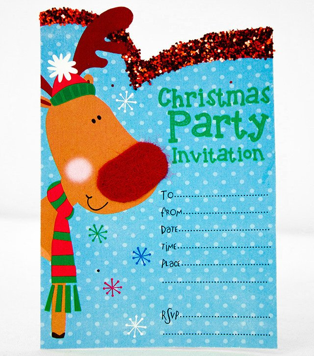 Free printable christmas invitation templates party delights blog for Free holiday invite templates