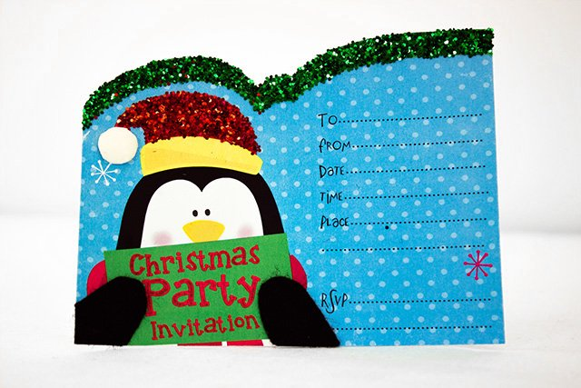 Free Printable Christmas Invitation Templates – Free Christmas Party Templates Invitations
