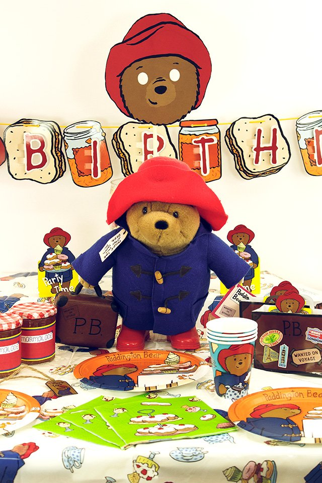 Paddington Bear Party Decorations