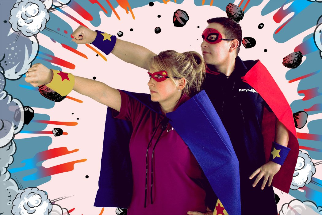 Make Your Own Superhero Costume Diy Party Delights Blog