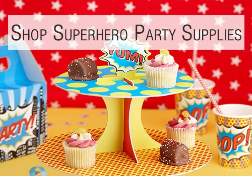 Shop Superhero Party Supplies