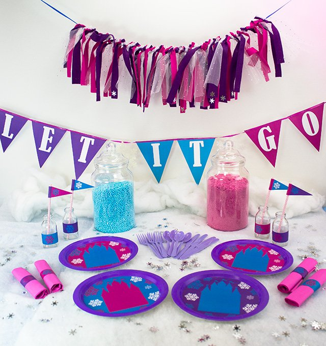 How to Throw a Frozen Party on a Budget
