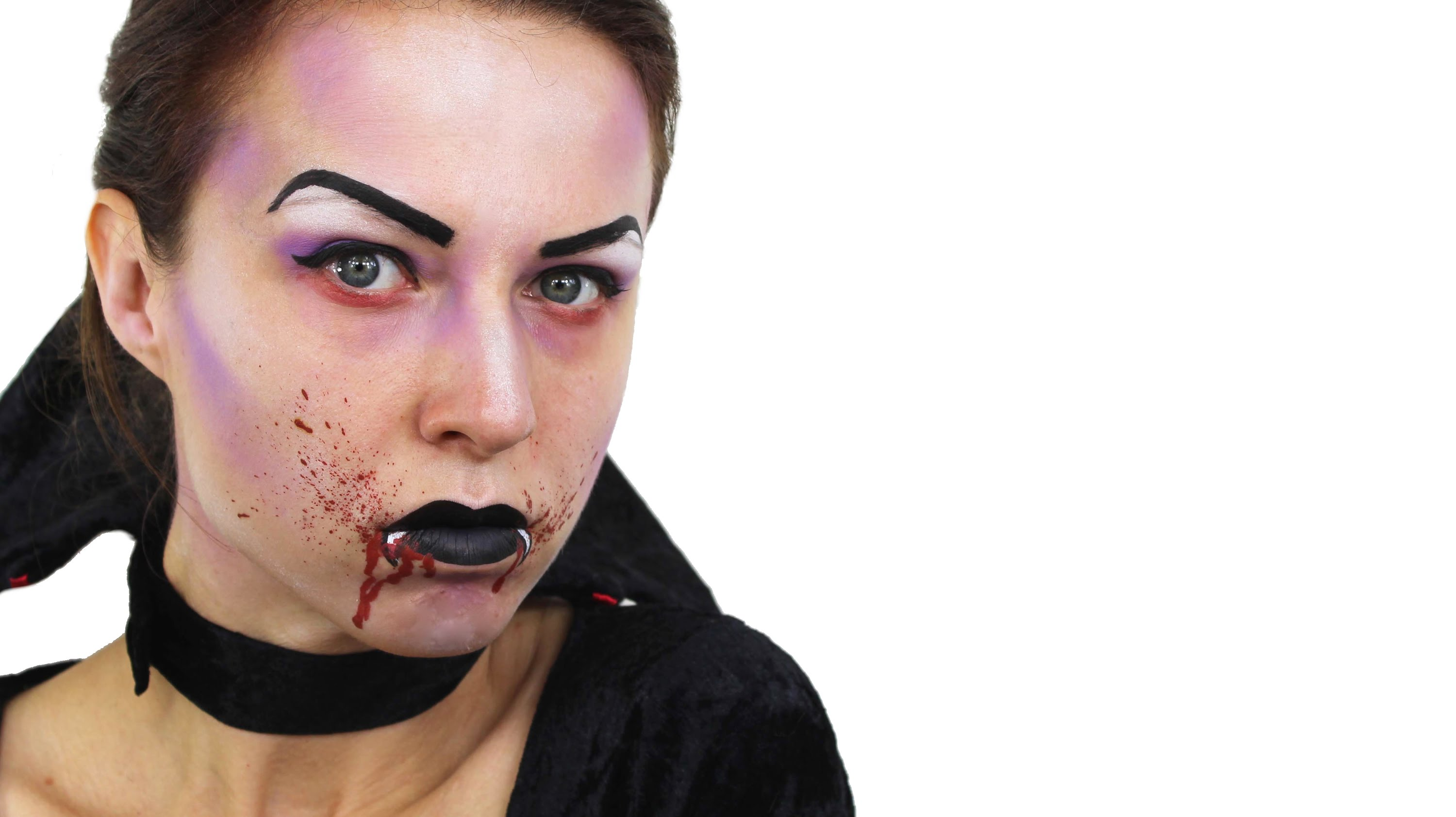 Vampire makeup tutorial costume ideas party delights blog baditri Image collections