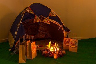 Indoor Camping Party Ideas