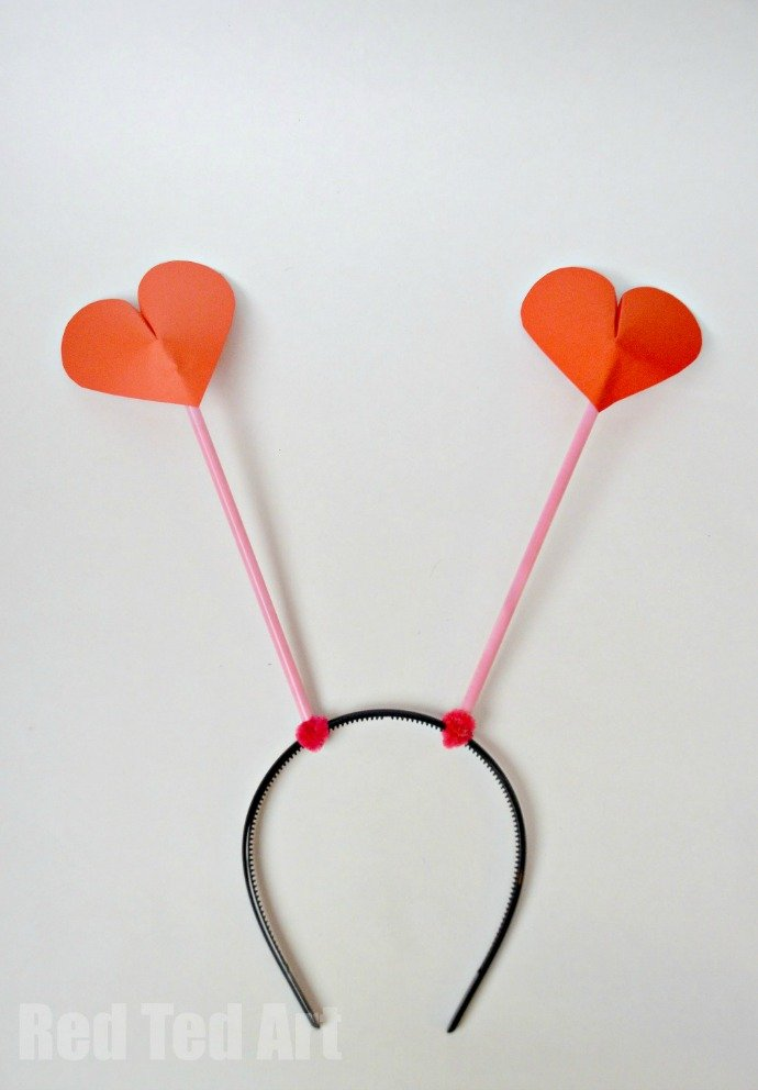 Heart DIY Party Boppers