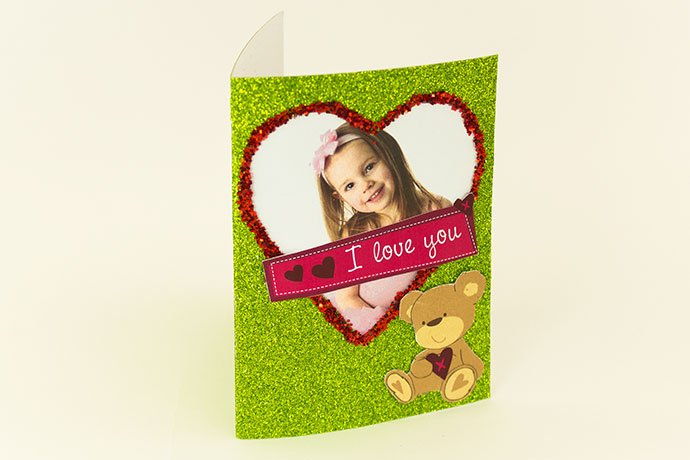 Make your own Valentines card