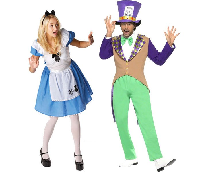Alice in Wonderland Book Character Costumes for Teachers