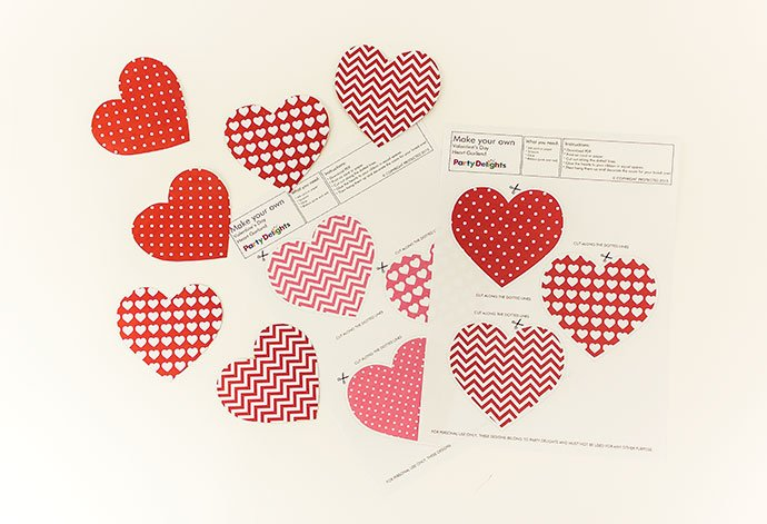 Free Printable Valentines Crafts for Kids