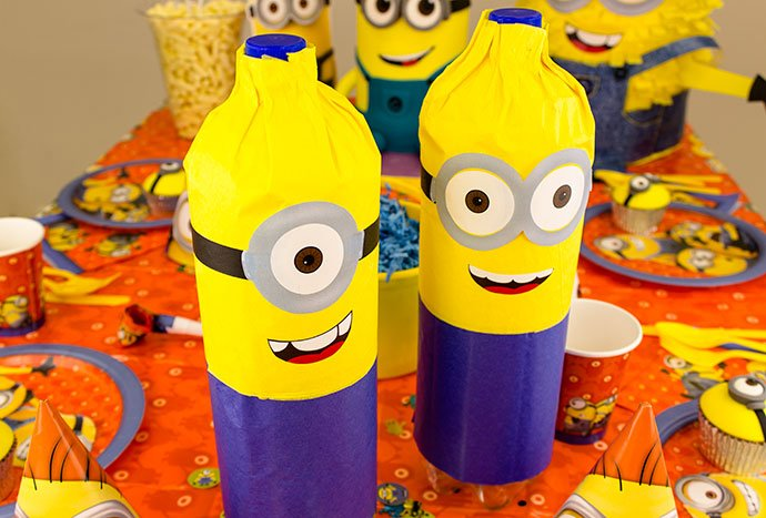 Minion Party Crafts for a Minion Birthday Party