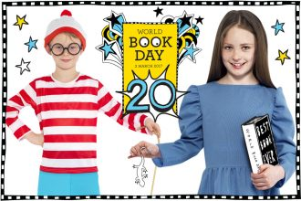 Classic World Book Day Costumes for Kids