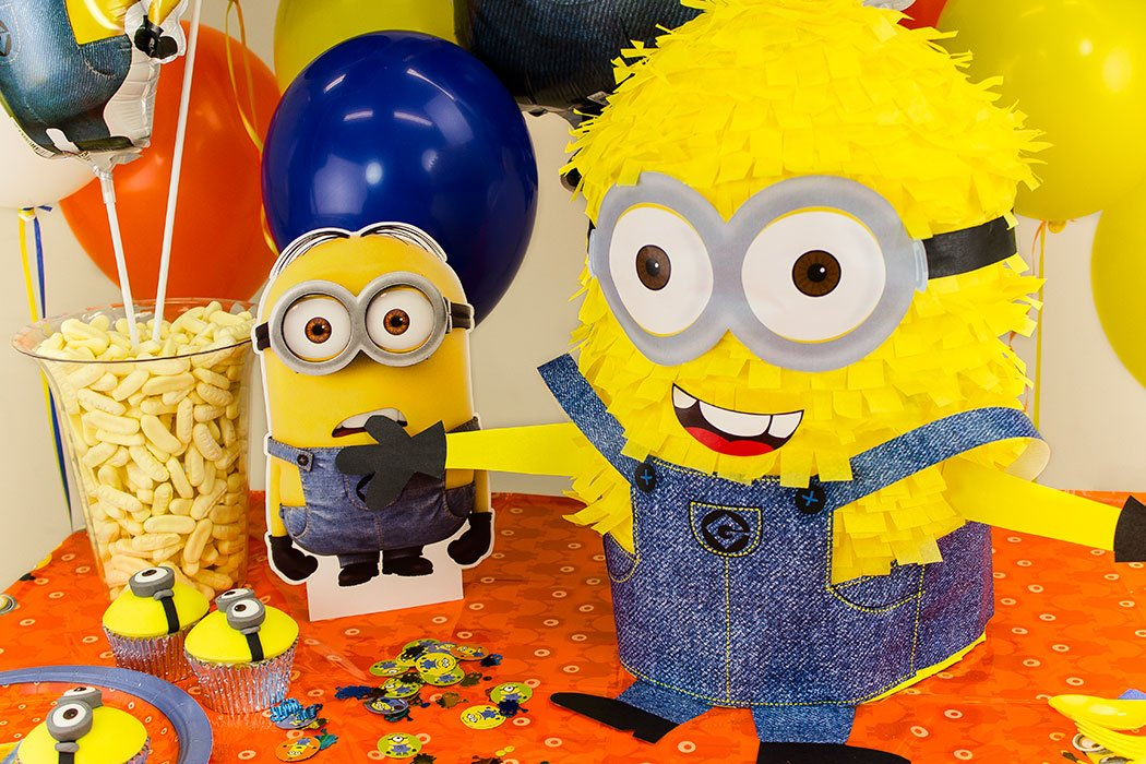 How to make a minion piñata