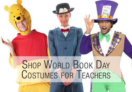 Classroom Ideas For World Book Day ~ Best book character costumes for teachers party