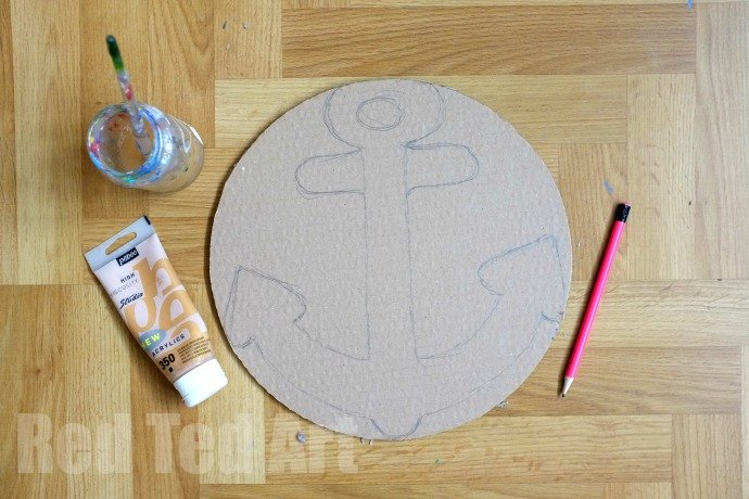 cardboard pirate ship template - how to make a pirate party photo booth party delights blog
