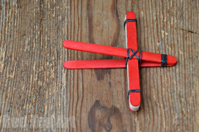 Catapult Craft from Craft Sticks