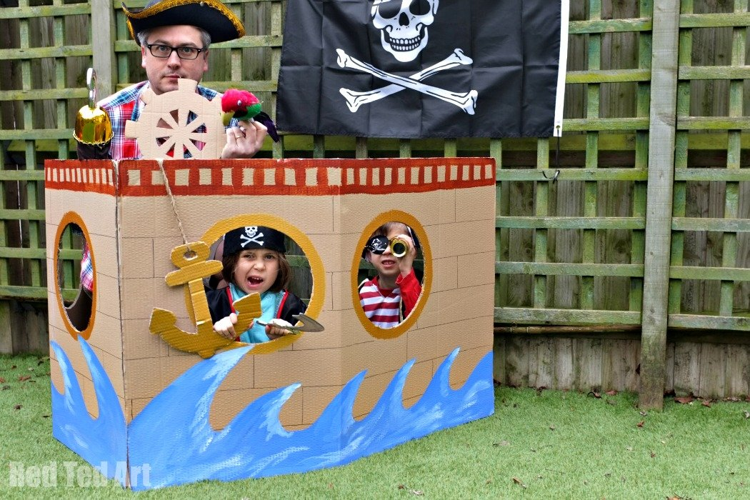 Playhouse Plans furthermore Clubhouse Designs together with Diy Cardboard Furniture Plans Free also Diy Cardboard Box moreover Wooden Tugboat Plans. on pirate ship playhouse plans ideas