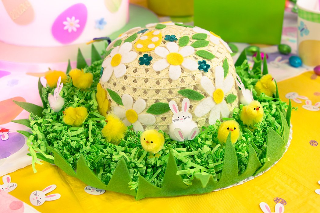 How To Make An Easter Bonnet Party Delights Blog