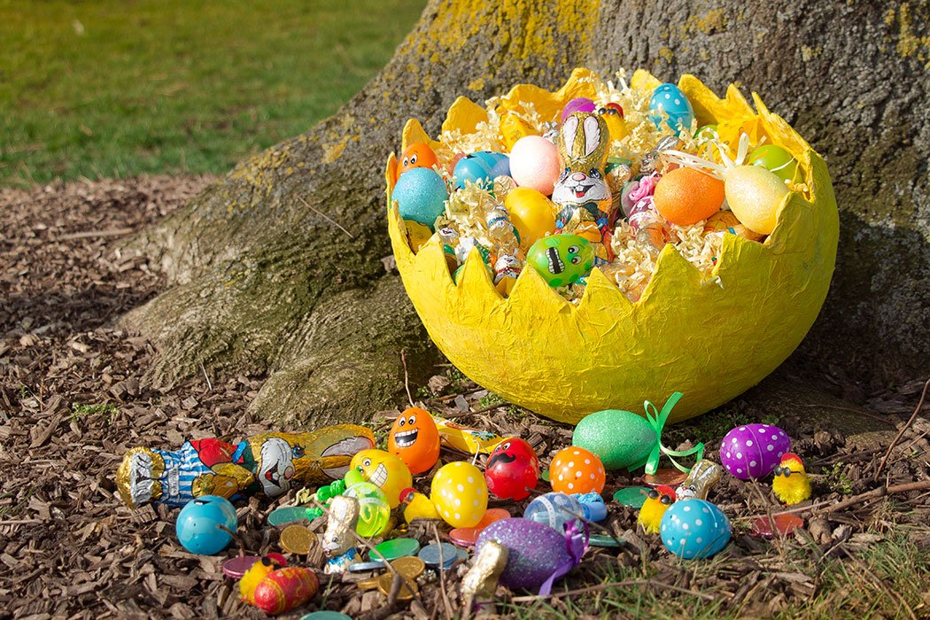 Easter egg hunts are one of the most memorable things about springtime