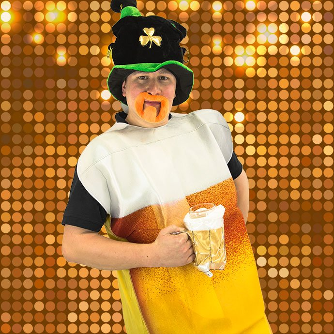 St Patrick's Day Fancy Dress - Beer Costume