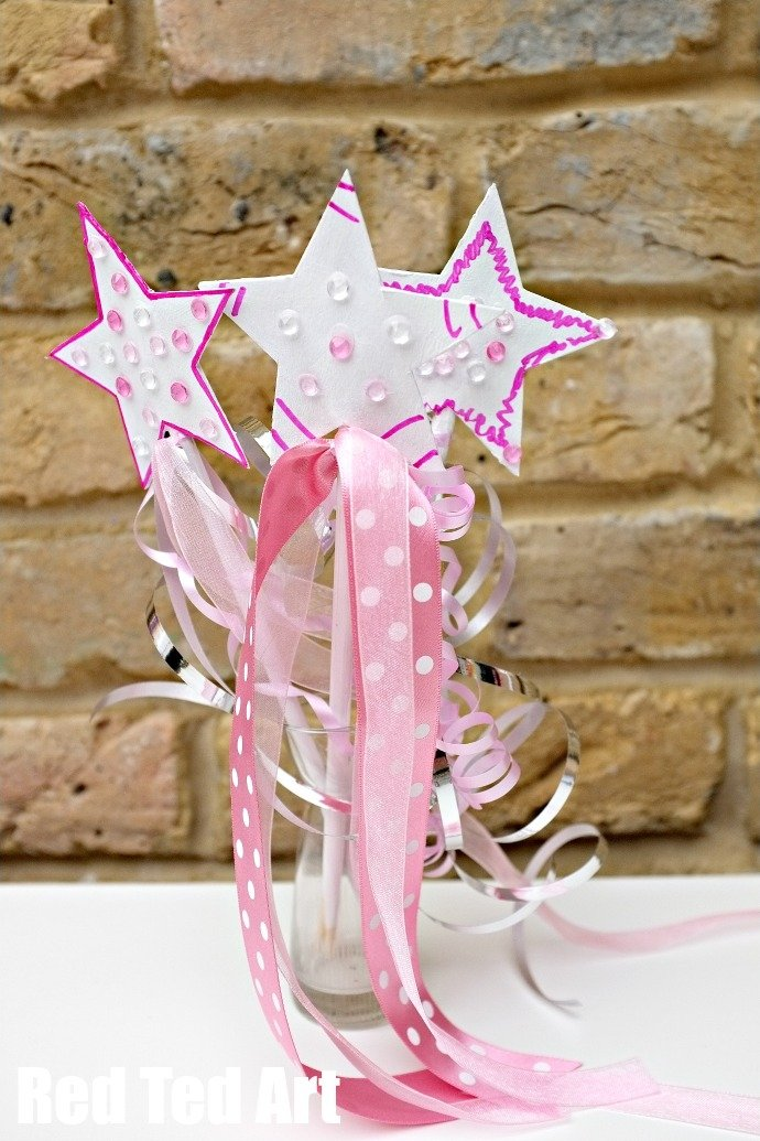 Princess Party Craft - Make Your Own Wand