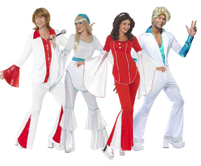 Eurovision Song Contest Costume Ideas - Abba