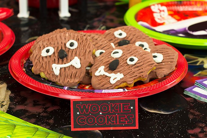 Wookie Cookies Free Printable Star Wars Food Labels