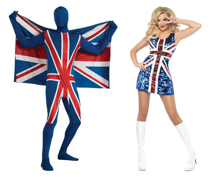 Union Jack Costumes for Eurovision 2015