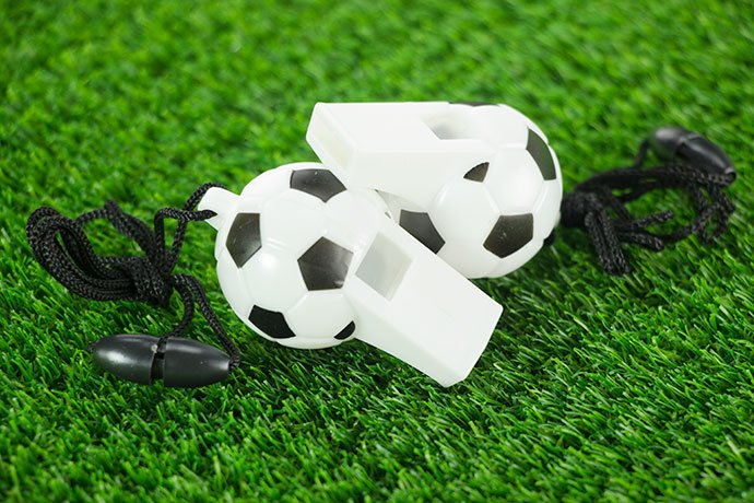 Football Whistles for Football Party Games