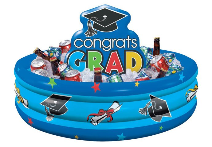 Graduation Ideas - Inflatable Drinks Cooler