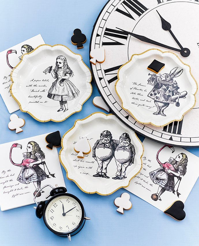 Alice in Wonderland Tableware