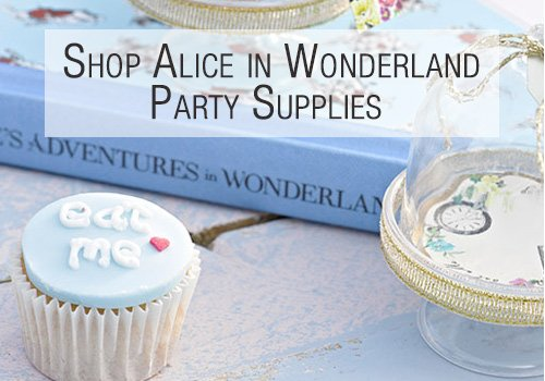 Shop Alice in Wonderland Party Supplies