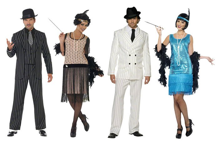 Great Gatsby Costumes For An American Themed Costume Party