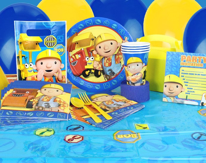 Top toddler party themes - Bob the Builder