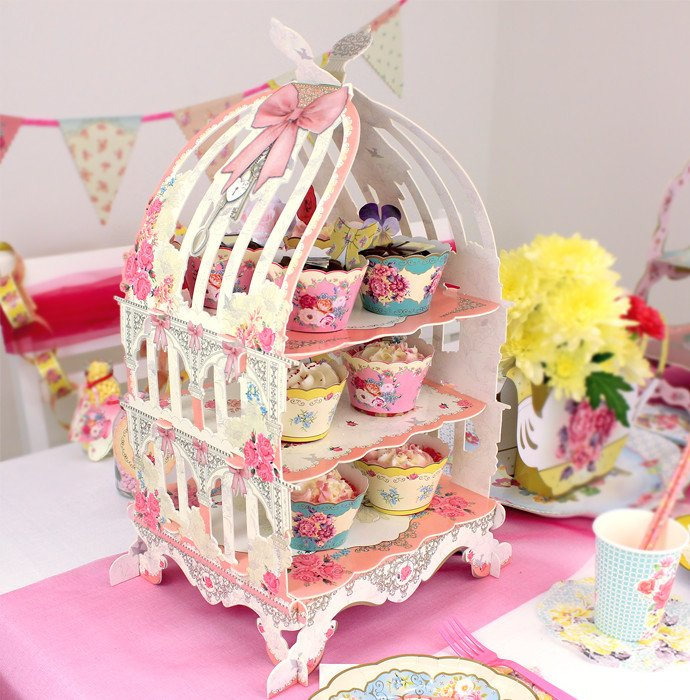 Cool Birdcage Cake Stand