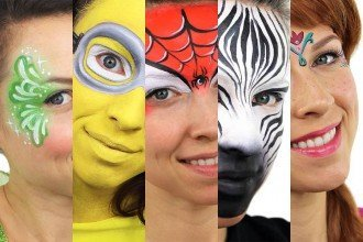 Easy Face Painting Ideas for Kids Parties