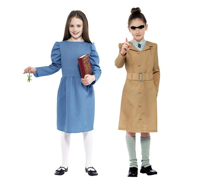 Matilda and Mrs Trunchbull Costumes for Dahlicious Dress Up Day  sc 1 st  Party Delights Blog & Book Character Costume Ideas for World Book Day 2017 | Party ...
