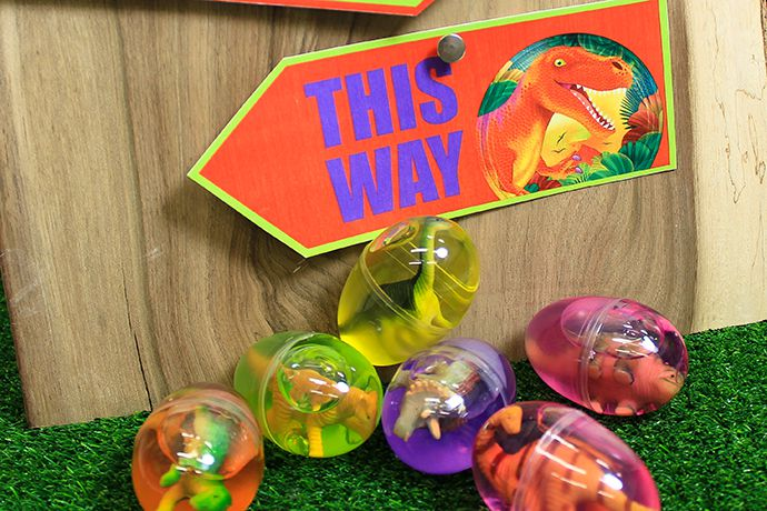 Dinosaur Egg Hunt Party Game