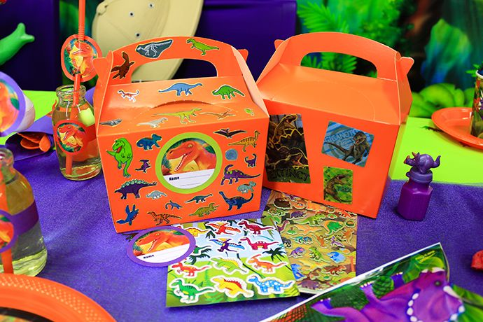 Dinosaur Themed Party Boxes